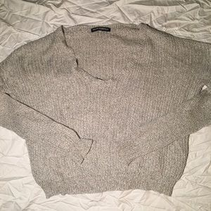 Brandy Melville Classic Grey Knit Sweater